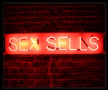 Sex Sells Neon Sign